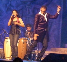 Anwesha and Abhijeet at NABC 2010