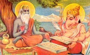 Mahabharata - Vyasa and Ganesha