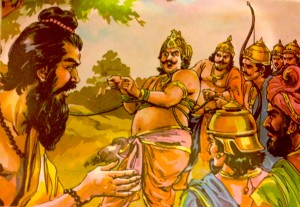 Drona takes his revenge on Drupada