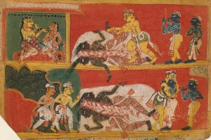 Bhima Slays Jarasandha