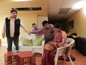 A Scene from Anahuta Sandhya