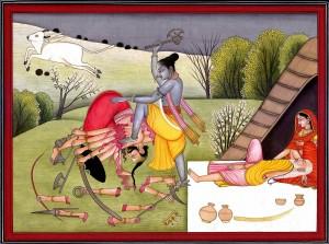 Parashurama kills Kartavirya