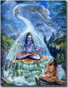 Bhagirath and Ganga