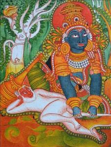 Bheema meets Hanuman