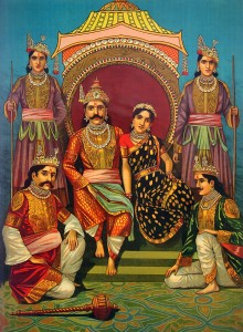 Draupadi and the Pandavas